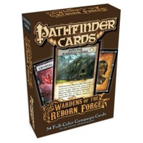 Pathfinder - Cards - Wardens of the Reborn Forge Campaign Cards