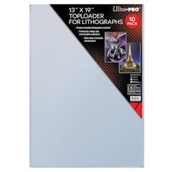 Buy Ultra Pro - Toploaders 10ct - 13x19 and more Great Sleeves & Supplies Products at 401 Games