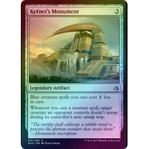 Kefnet's Monument (Foil) (AKH) available at 401 Games Canada