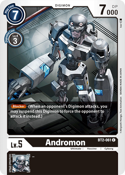 Andromon (BT2-061) available at 401 Games Canada