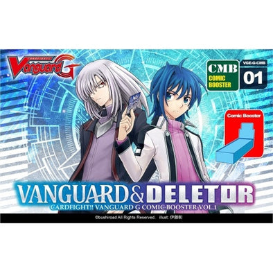 Buy Cardfight!! Vanguard - GCMB01 - Vanguard & Deletor Booster Box and more Great Cardfight!! Vanguard Products at 401 Games