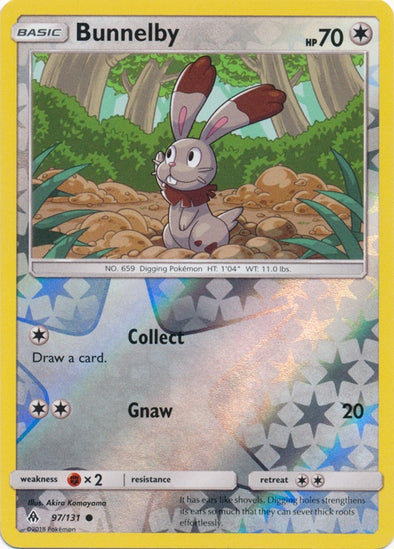 Buy Bunnelby - 97/131 - Reverse Foil and more Great Pokemon Products at 401 Games
