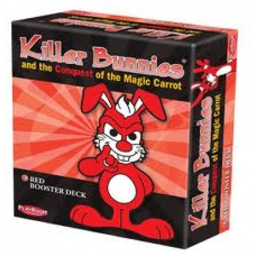 Killer Bunnies Conquest - Red Booster Deck - 401 Games