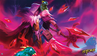 Keyforge - Xenos Bloodshadow Playmat available at 401 Games Canada