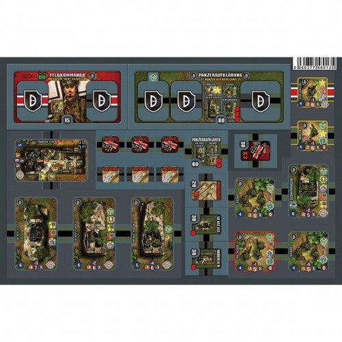 Heroes of Normandie - German Reinforcements 21st Panzer - 401 Games