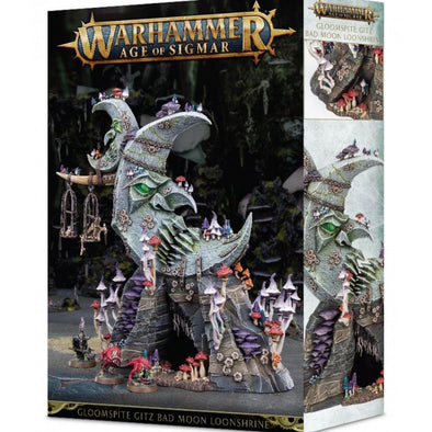 Buy Warhammer - Age of Sigmar - Bad Moon Loonshrine and more Great Games Workshop Products at 401 Games