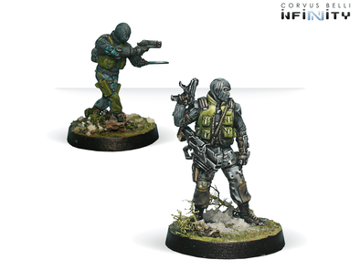 Infinity - Ariadna - 1st. Highlanders S.A.S. (Boarding Shotgun/ Chain Rifle) - 401 Games