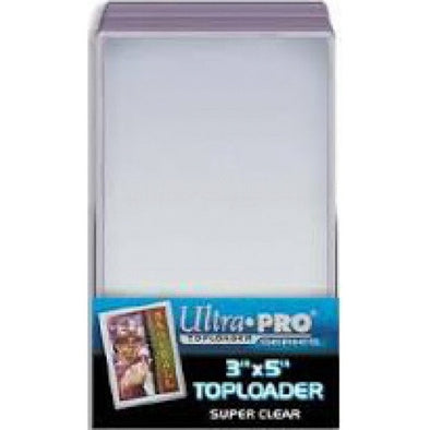 Buy Ultra Pro - Toploader 25ct - 3x5 Tallboy and more Great Sleeves & Supplies Products at 401 Games