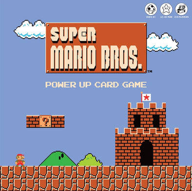 Super Mario Bros. - Power Up Card Game available at 401 Games Canada