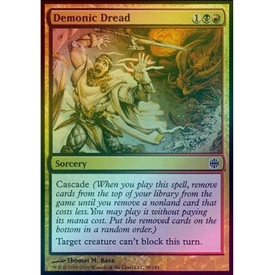 Demonic Dread (Foil) (ARB) available at 401 Games Canada