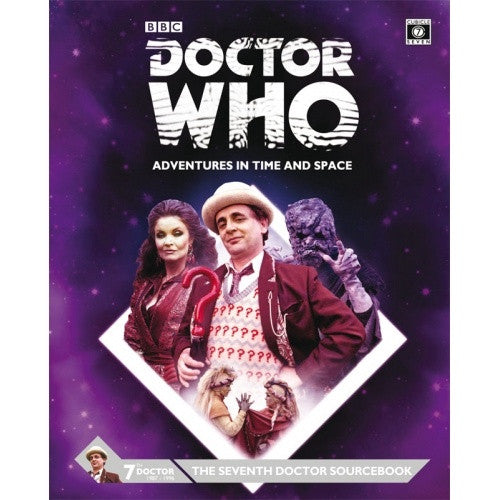 Buy Doctor Who: Adventures in Time and Space - The Seventh Doctor Sourcebook and more Great RPG Products at 401 Games