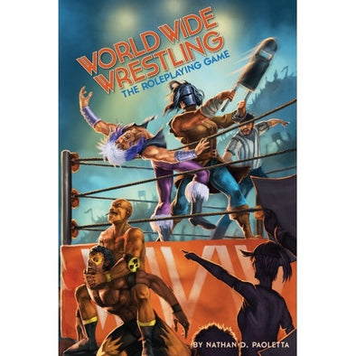 Buy Apocalypse - World Wide Wrestling - Core Rulebook and more Great RPG Products at 401 Games