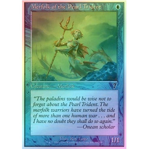 Merfolk of the Pearl Trident (Foil) available at 401 Games Canada