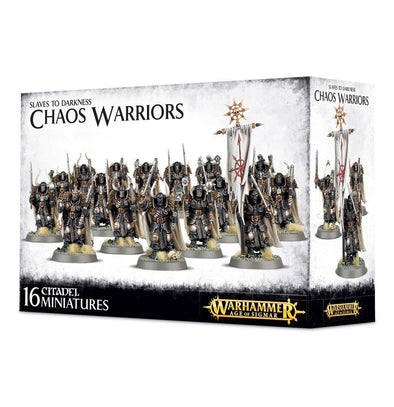 Buy Warhammer - Age of Sigmar - Slaves to Darkness - Chaos Warriors and more Great Games Workshop Products at 401 Games
