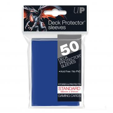 Buy Ultra Pro - Standard Card Sleeves 50ct - Blue and more Great Sleeves & Supplies Products at 401 Games