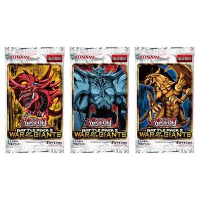 Yugioh - Battle Pack 2 - War of the Giants Booster Pack - 401 Games