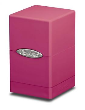 Buy Ultra Pro - Deck Box 100+ Satin Tower - Pink and more Great Sleeves & Supplies Products at 401 Games