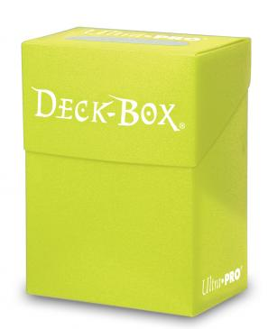 Ultra Pro - Deck Box 80ct - Bright Yellow - 401 Games