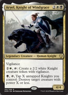 Aryel, Knight of Windgrace (DOM) available at 401 Games Canada