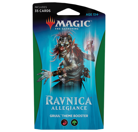 Buy MTG - Ravnica Allegiance - Theme Boosters Gruul and more Great Magic: The Gathering Products at 401 Games
