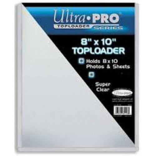 Buy Ultra Pro - Toploader 25ct - 8x10ct and more Great Sleeves & Supplies Products at 401 Games