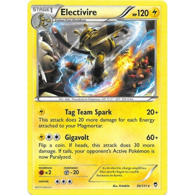 Buy Electivire - 30/111 - Reverse Foil and more Great Pokemon Products at 401 Games