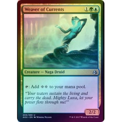 Weaver of Currents (Foil) (AKH) available at 401 Games Canada