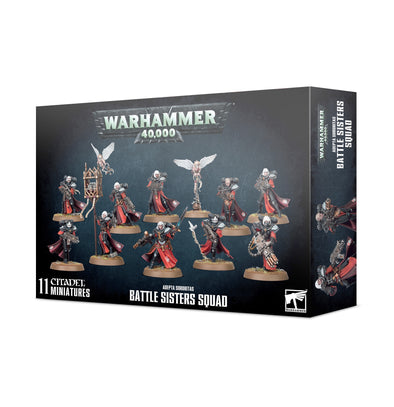 Warhammer 40,000 - Adepta Sororitas - Battle Sisters Squad available at 401 Games Canada