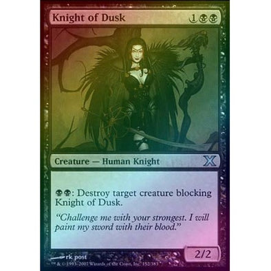 Knight of Dusk (Foil) available at 401 Games Canada