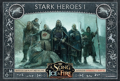 A Song of Ice and Fire - Tabletop Miniatures Game - House Stark - Stark Heroes 1 - 401 Games