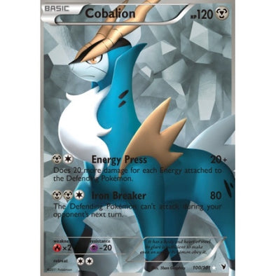 Buy Cobalion - 100/101 - Full Art and more Great Pokemon Products at 401 Games