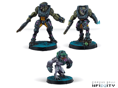Infinity - Combined Army - Jayth Cutthroats, Shasvastii Independent Assault Group available at 401 Games Canada