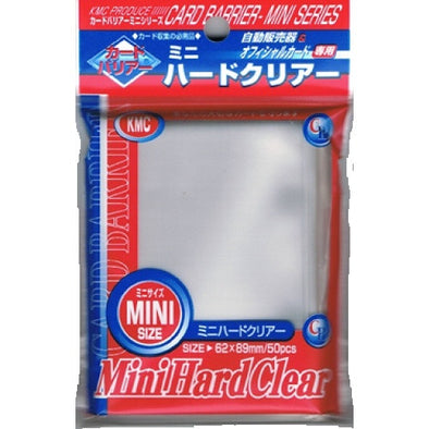 SUPL KMC Mini Clear 50 Ct Sleeves - 401 Games