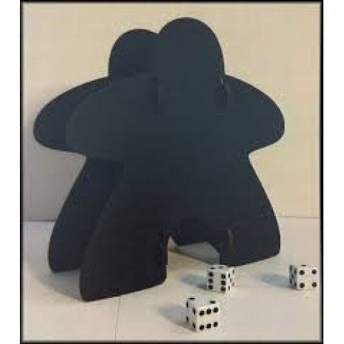 Dice Tower - Knockdown Meeple Black available at 401 Games Canada