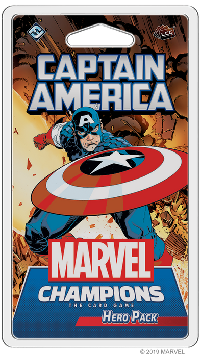 Marvel Champions - Living Card Game - Captain America Hero available at 401 Games Canada