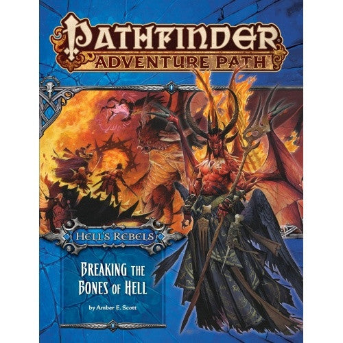 Pathfinder - Adventure Path - #102: Breaking the Bones of Hell (Hell's Rebels 6 of 6) available at 401 Games Canada