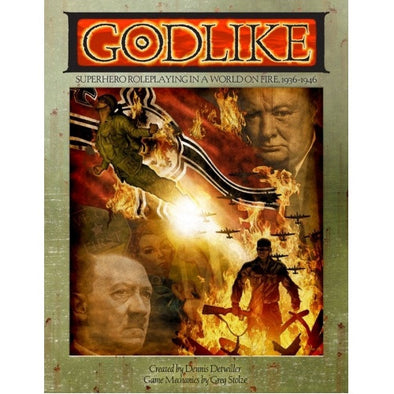 Godlike - Core Rulebook available at 401 Games Canada