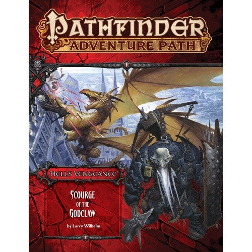 Buy Pathfinder - Adventure Path - #107: Scourge of the Godclaw (Hell's Vengeance 5 of 6) and more Great RPG Products at 401 Games