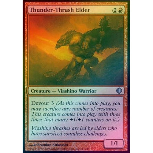 Thunder-Thrash Elder (Foil) (ALA) available at 401 Games Canada