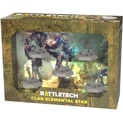 Battletech - Clan - Elemental Star available at 401 Games Canada