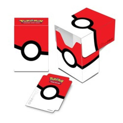 Ultra Pro - Deck Box 80ct - Pokemon - Pokeball available at 401 Games Canada