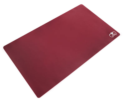 Ultimate Guard - Monochrome Play Mat - Bordeaux Red - 401 Games