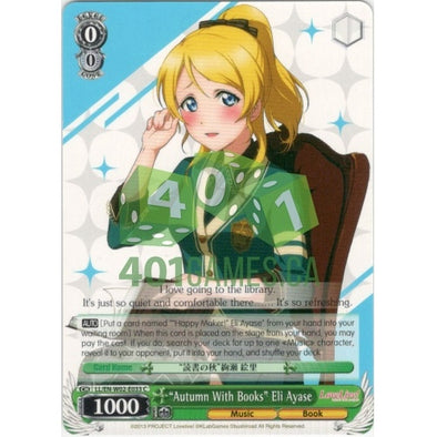 """Autumn With Books"" Eli Ayase available at 401 Games Canada"