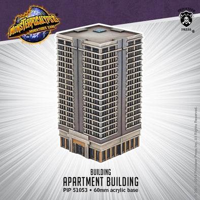 Buy Monsterpocalypse Miniatures Game - Building - Apartment Building and more Great Tabletop Wargames Products at 401 Games