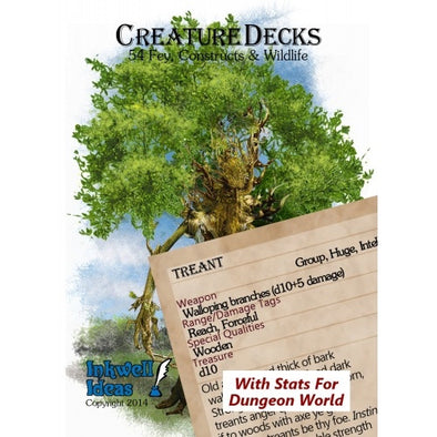 Fate - Creature Deck - Constructs & Wildlife - 401 Games