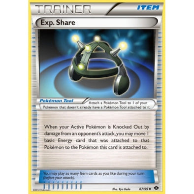 Buy Exp. Share - 87/99 and more Great Pokemon Products at 401 Games