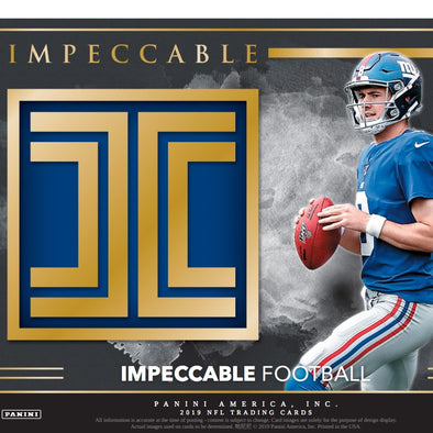 2019 Panini Impeccable Football Hobby Box - 401 Games