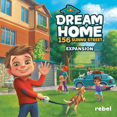Dream Home: 156 Sunny Street (Pre-Order Oct 2017) - 401 Games
