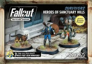 Fallout - Wasteland Warfare - Survivors - Heroes of Sanctuary Hills