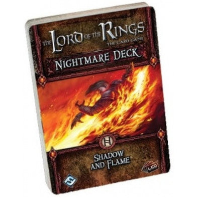 Lord of the Rings - The Card Game - Shadow and Flame Nightmare Deck available at 401 Games Canada